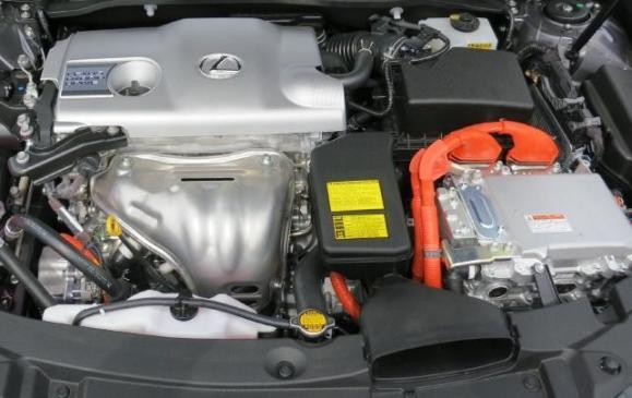 2013 Lexus ES350 - engine