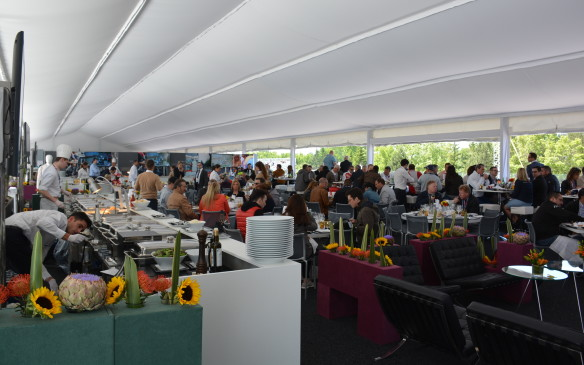 <p>The Paddock Club is where the elite or the lucky few get to hang out throughout the weekend. There's a main VIP Paddock Club section, as well as separate teams' paddocks where you can enjoy the race with a view from above the start/finish line and pit lane. But the Paddock Club offers much more than watching the racing action. </p>