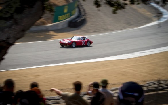 <p>Just as famous as many of the cars themselves is Mazda Raceway Laguna Seca's infamous 'corkscrew' series of turns – an ideal vantage point for watching races, vintage or otherwise.</p>