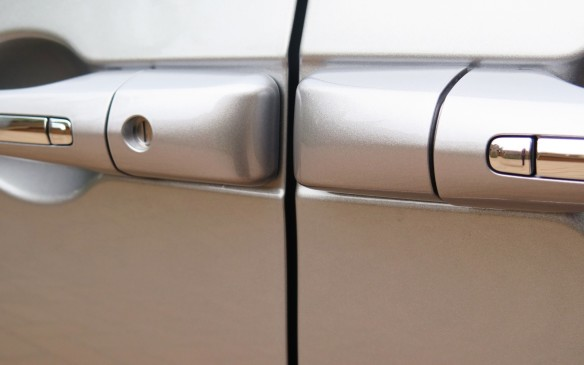 "<p>One of the best features of a minivan are sliding side doors which can be opened in confined spaces and allow maximum access to the interior. The design team went to great lengths to disguise the tracks, which allow them to move rearward, but usually leave a nasty gash in the side view. In the new Pacifica they are hidden behind the glass. The doors can be operated by the remote key fob, on the overhead panel in front or by little ""chiclets"", as the designers call them - in the door handles.</p>"