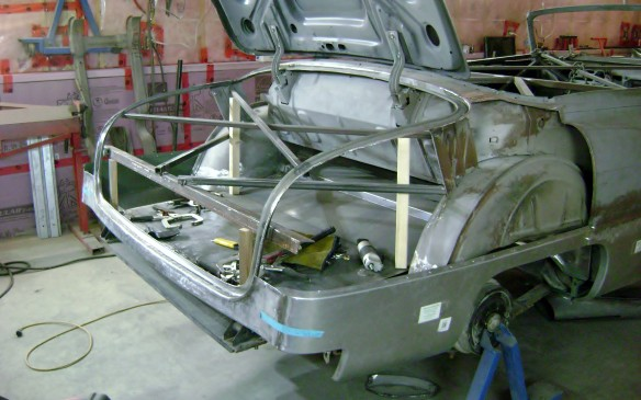 <p>The trunk was also in need of some TLC so the rebuilding exercise starts there as well.</p>