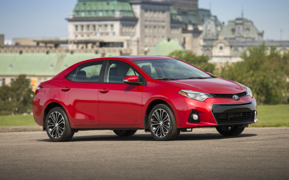 <p>Sales of 47,198 Corollas in 2015 were down 3.7% from the year before, leaving the Toyota just over 500 units short of second place among cars and in seventh place overall.</p>