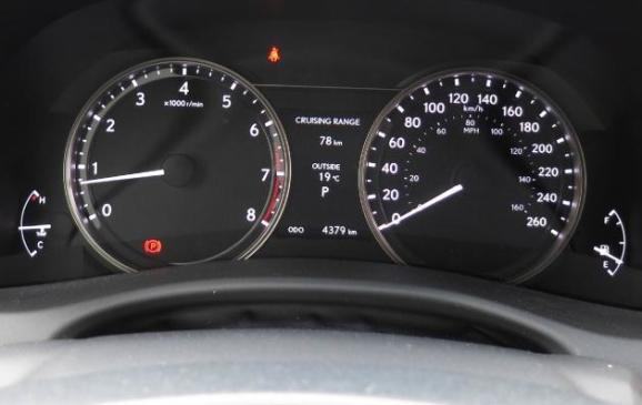 2013 Lexus GS350 F-Sport - instrument cluster