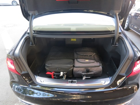 2015 Audi A8 - trunk
