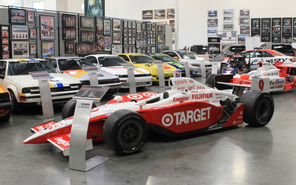 <p>Toyota entered the IRL IndyCar series in 2003 as an engine supplier. Scott Dixon led the series in almost every result with this V-8-powered car and took the championship at the end of the year.</p>