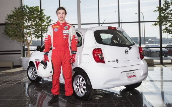 <p>The Micra Cup has inspired a road version of the Micra Cup car. It will be called the Micra Cup Limited Edition with only 250 units to be made. It has 8-spoke, 15-inch alloys, along with a numbered plaque on the inside signed by 2015 champion Olivier Bédard.</p>