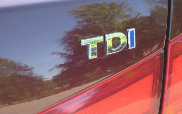 2012 VW Passat TDI - Nameplate