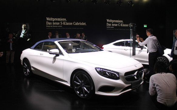 <p>When the three-layered roof is in place on the S-Class Cabriolet, Mercedes claims it has class-leading quietness – almost as insulating as the hardtop.</p>