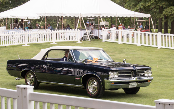 <p>This 1974 Pontiac GTO – the original '60s muscle car – was named the Most Significant General Motors car in the show.</p>