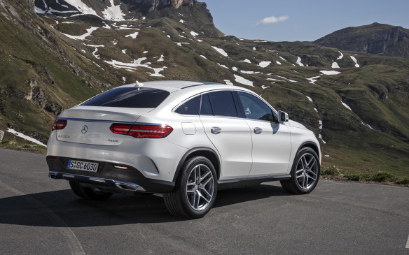 <p>2016 Mercedes GLE Coupe </p>