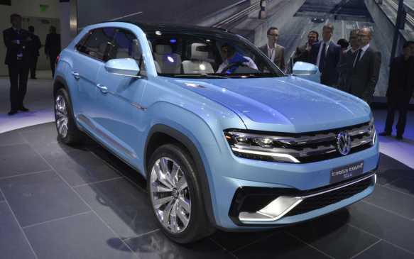 <p><strong>Volkswagen Cross Coupe GTE Concept (Canadian debut) –</strong> Volkswagen has been looking at building a more car-like SUV at its U.S. plant in Tennessee and there have been several similar concepts in the past few years. The Cross Coupe GTE is one of the more aggressive, and is powered by a 3.6-litre V-6 engine and pair of electric motors that net 355 horsepower. That package not only provides all-wheel drive, but also 0-100 km/h acceleration in just over six seconds.</p>