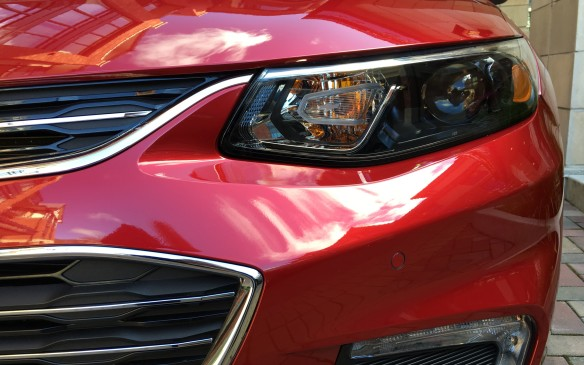 <p>The headlamps and daytime running lights have been updated to modern, efficient LED units</p>