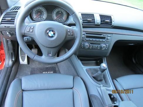 2012 BMW 1M- interior
