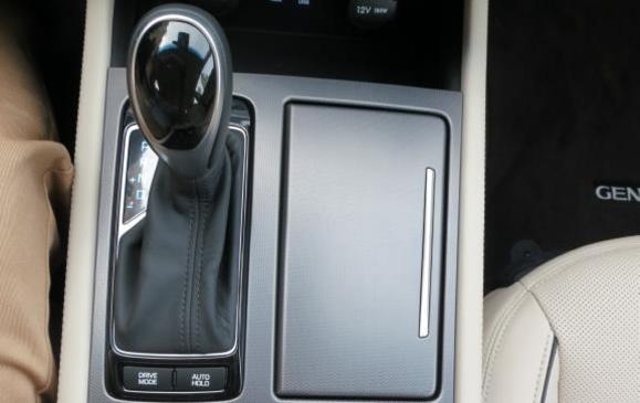 2015 Hyundai Genesis - shift knob detail