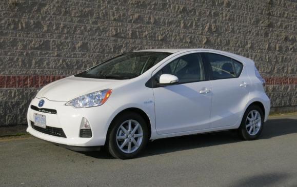 2012 Toyota Prius C - Front