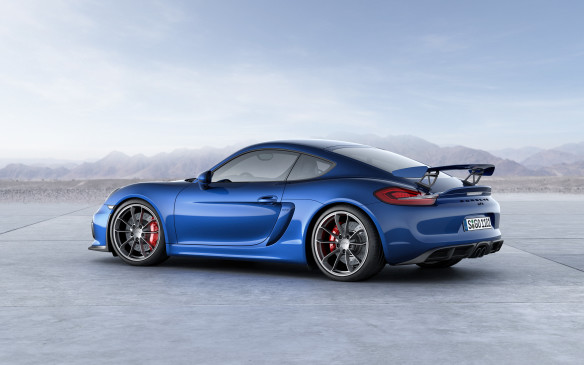 <p>Porsche Cayman GT4 with 635 points was the third place finisher in this class.</p>
