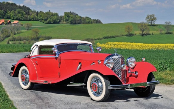 <p>Among the top dollar earners from the pre-war era, this rare and beautiful 1934 Mercedes-Benz 500 K Cabriolet A by Sindelfingen fetched $1,870,000 (USD).</p>