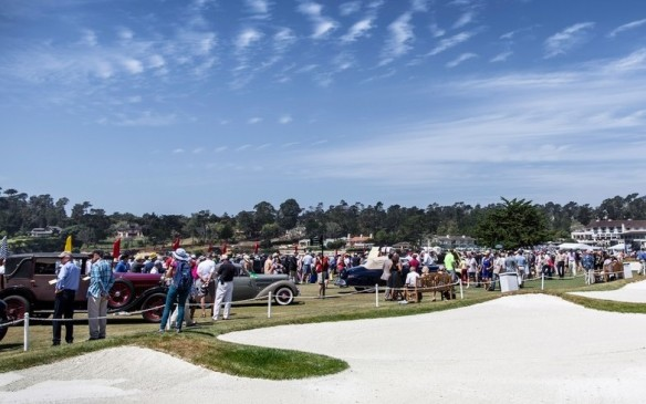 <p>The world-famous Pebble Beach golf course is equally famous as the site of what is arguably the world's most prestigious Concours d'Elegance; 2016 was its 66<sup>th</sup> edition.</p>