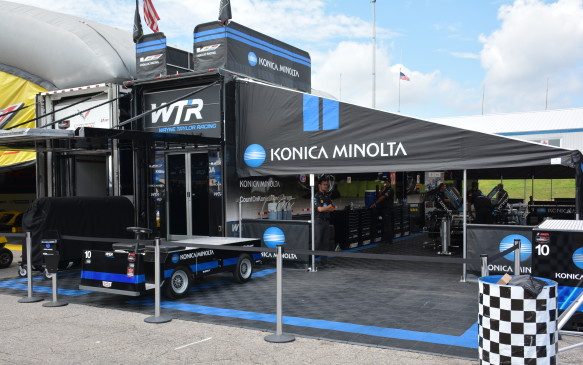 <p>At each race, Cadillac is active at trackside with customers and prospects. Visitors can see the technology, meet the drivers and team members. In addition, Cadillac provides parking spots and hospitality to some for relationship building.</p>