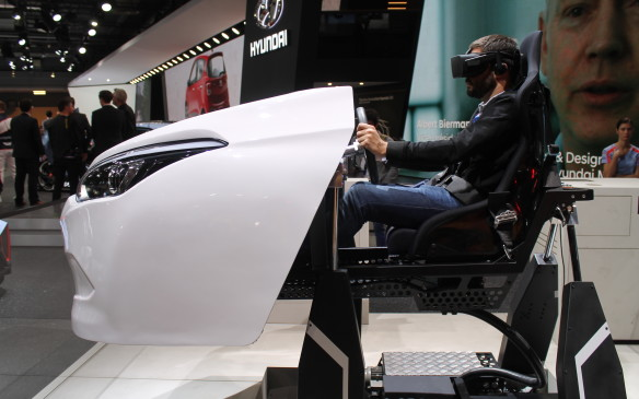 <p>There were lots of virtual reality stops throughout the show.</p>