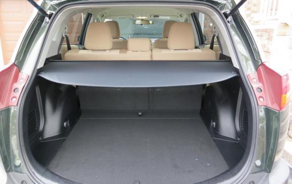 2013 Toyota RAV4 - cargo area