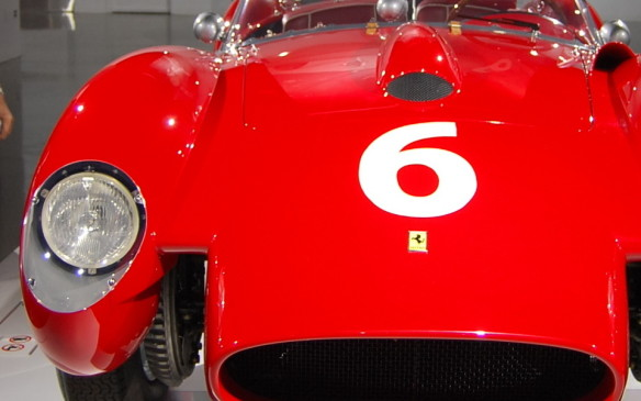 <p>As well as for its speed and endurance, the Testa Rossa was memorable for its distinctive styling, with its unique pontoon-style fenders. Under the hood of this 1958 model was a 3.0-litre V-12 engine, upgraded from the 2.0-litre four-cylinder version in earlier models.</p>