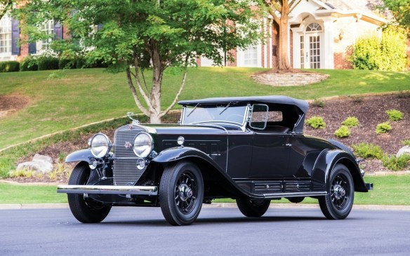 <p>Topping the Duesenberg's price, among the Grand Classics, this 16-cylinder 1930 Cadillac V-16 Roadster by Fleetwood sold for $1,475,000 (USD).</p>