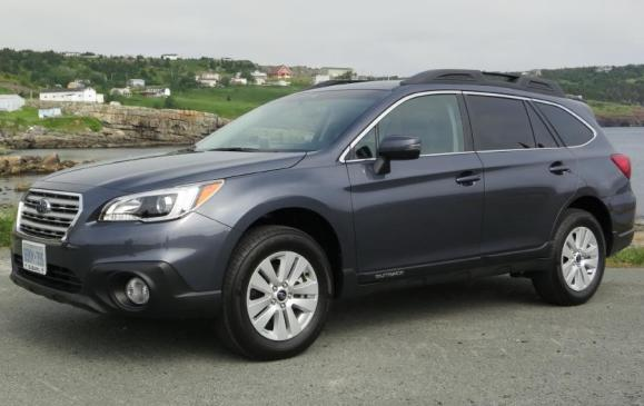 <p>Best New CUV/SUV <$35K - 2015 Subaru Outback</p> <p>The 2015 Subaru Outback claimed the laurels as Best New CUV/SUV <$35K. outscoring the Honda CR-V and Nissan Rogue.</p>