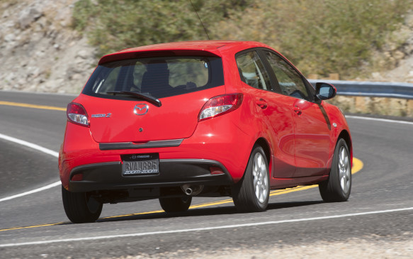 <p><strong>2012 Mazda2</strong></p> <p>Average price: $9,900</p> <p>For its entire run, the first-gen Mazda2 was the company's lightest car offered in Canada, more so than even the MX-5 roadster. So that meant the 100-horsepower 1.5-litre engine was more than potent enough to entertain, especially with the standard five-speed manual transmission. Unfortunately the four-speed automatic reduces both speed and fuel efficiency. But the car is very reliable and can be had for very little money.</p>