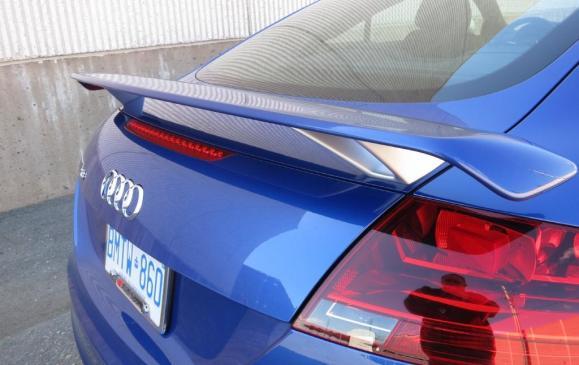 2012 Audi TT RS - Rear Spoiler