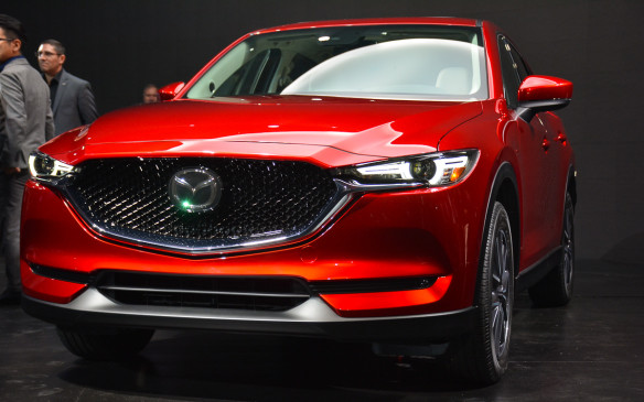 "<p>Mazda made a big splash in LA with its all-new, second-generation CX-5 crossover. It's another practical vehicle that portrays the next evolution of Kodo – Soul of Motion design, which is said to reflect a ""refined toughness.""</p>"