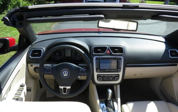 2013 Volkswagen Eos - interior top down