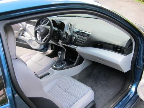 2011 Honda CR-Z front seat