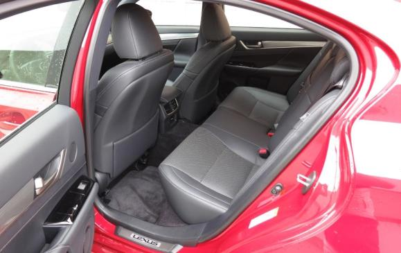 2013 Lexus GS350 F-Sport - rear seat
