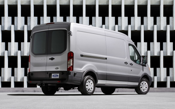 "<p>In an effort to duplicate European levels of fuel economy and operating expenses, the 2015 Transit can be ordered with the standard 275-hp 3.7-litre V-6, an optional 320-hp 3.5-litre EcoBoost turbocharged gasoline engine, or the 180-hp 3.2-litre ""Duratorq"" inline five-cylinder turbodiesel engine that makes a robust 350 lb-ft of torque. All North American versions of the Transit come fitted with a six-speed automatic transmission and rear-wheel drive, and are sourced from the Kansas City assembly plant in Missouri.</p>"