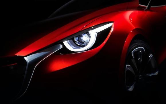 Mazda Hazumi concept car teaser
