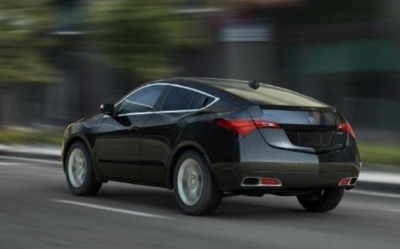 2013 Acura ZDX - Rear