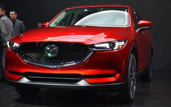 "<p>Crossovers are currently all the rage and Mazda will aim to capitalize on that with its new 2017 CX-5 crossover. The gasoline versions will be available starting in Q1, while its ""torque-rich"" Skyactiv-D 2.2-litre diesel will arrive around the fall.  </p> <p>Styling for the CX-5 has taken on a modernized tough look which Mazda has named the next evolution of its signature 'Kodo – Soul of Motion' design. On top of its more chiseled physique, the crossover gets an enhancement in handling with new vehicle dynamics that includes G-Vectoring Control that can adjust torque based on the driver, creating a more stable and responsive drive.</p>"