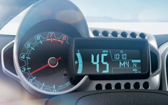 2012 Chevrolet Sonic - instrumentation