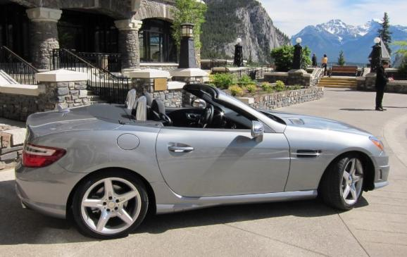 2012 Mercedes-Benz SLK - side view