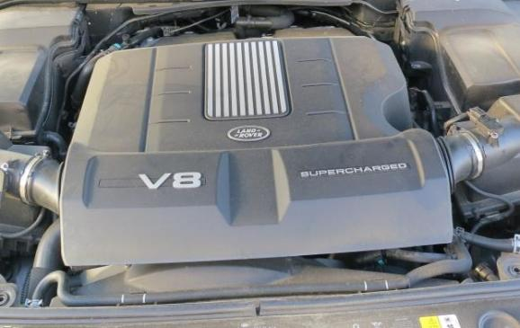 2012 Range Rover Sport - engine bay