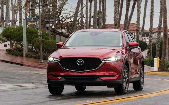 <p>Criticism of the current-generation CX-5 has focused on its elevated levels of noise, vibration and harshness, so Mazda engineers spent much time and effort tackling these issues. After spending several hours behind the wheel driving on Interstate highways and curvy secondary roads in the hilly terrain southeast of San Diego, the results are obvious – the improvements to the 2017 model are significant. It's dramatically quieter; even more so than such premium brands as the BMW X1, Audi Q3 and Jaguar F-Pace.</p>