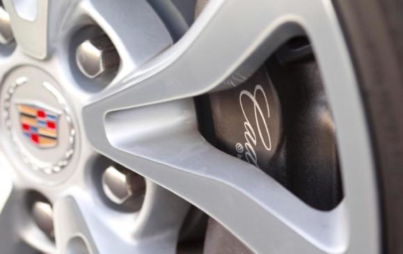 2013 Cadillac ATS - detail brake caliper