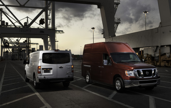 <p>Although it's a few years old now, Nissan's NV Cargo van is the most traditionally truck-like vehicle of the group, with a full body-on-frame construction, truck-sourced V-6 and V-8 engines and big, burly styling. The 4.0-litre V-6 offers 261 horsepower while the optional 5.6-litre V-8 has 317 horses – not the strongest offerings around, but proven units that would help keep already frayed nerves in check. The enormous frame does allow for towing rates of 3,175 kilograms but also an interior payload of 1,325 kilograms, stuffed into its maximum cargo capacity of 11,900 litres. The full-size NV doesn't offer a dual rear wheels like some rivals, but does offer other features, like rear split cargo doors that swing open nearly parallel with the van's sides, that still prove more than able to answer Santa's call.</p>