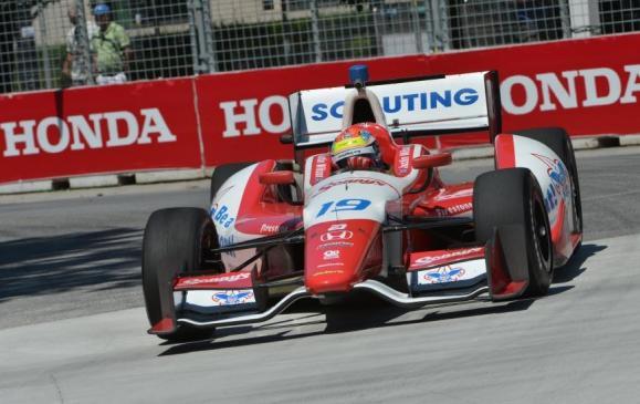 Honda Indy Toronto 2013, Justin Wilson