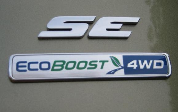 2013 Ford Escape - EcoBoost badge