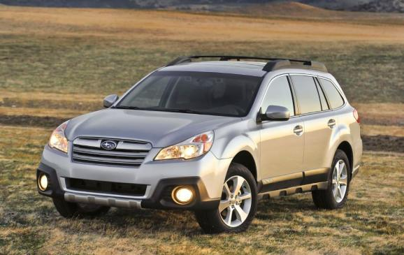 <p><strong>2010-13 Subaru Outback</strong></p> <p>The Outback offered Subaru's familiar SOHC 2.5-L flat four-cylinder engine, putting out 170 hp and 170 lb-ft of torque, and an optional DOHC 3.6-L flat six, making 256 hp and 247 lb-ft of torque. The four cylinder mated to a six-speed manual transmission or a chain-driven continuously variable automatic transmission (CVT), while the six came bundled with a conventional five-speed automatic only. Cheery Outback owners value their wagons for their practical size, all-weather tractability, fuel efficiency and all-round saintliness.</p>