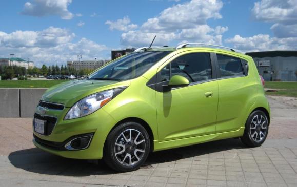2013 Chevrolet Spark - Front Side