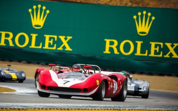 <p>On the same weekend, not far away at Mazda Raceway Laguna Seca, the Rolex Monterey Motorsports Reunion enjoys a similar status in the world of vintage car racing,</p>