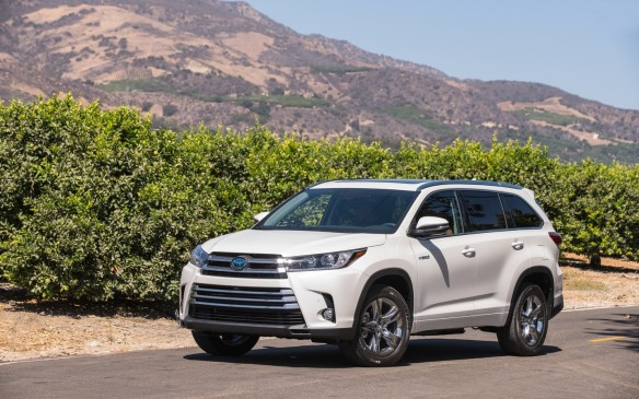 <p>If the CR-V is an overachieving compact SUV, then Toyota's Highlander is its equivalent in the mid-size category. Sized right, it offers three-row seating for up to eight occupants, which means it can easily supplant the old family van and provide all-weather versatility with its all-wheel drive. New for 2017 is an updated 3.5-L V-6 engine that's good for 295 hp, and the Hybrid model is now even more efficient and refined. Safety is a big draw in this segment, so the Toyota Safety Sense suite of features includes adaptive cruise control, forward-collision warning with pedestrian detection and automated emergency braking, lane-departure alert, lane assist and automatic high-beam lamps.</p>